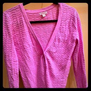 Merona pink sweater